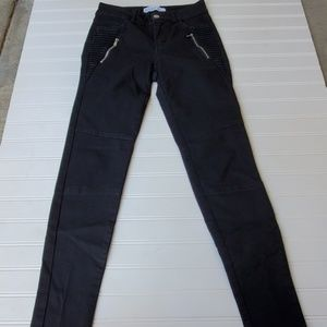Zara Basic Black Denim Size 2